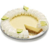 Sweet-tart key lime in a graham shell with whip topping.