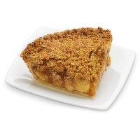 Baked in store.This flaky crust is filled with fresh apple slices, cinnamon, and sugar then topped with premium oat and brown sugar crumble, a sweet and delicious crunch