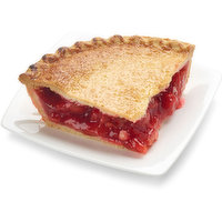 Baked in store.This delicious cherry pie is the perfect balance of tart and sweet. Made withonly the finest Montmorency cherries, real sugar and then baked in a flaky, made from scratch crust. Just slice and serve or warm it up and add a scoop of vanilla ice cream.