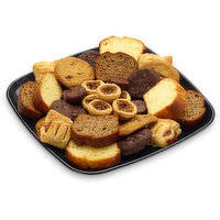 48 hour Prep Time Required for Party Platters. Limit 10 Per Order. Take a Break with Cookies, Pecan Tarts, Bite Sized Brownies, Cherry/Apple Strudel, Lemon and Banana Loaf.