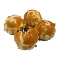 Traditional - Red Bean Puff with Egg Yolk, 75 Gram