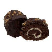Baked Fresh - Chocolate Coating Swiss Roll, 180 Gram
