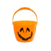 Halloween - LED Candy Bucket - 8in, 1 Each