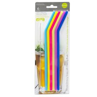 L Gourmet - Silicone Drinking Straws