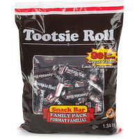 Tootsie Roll - Snack Bar - Family Pack, 80 Each