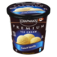 Rich and creamy French vanilla ice cream. 160 Calories per 1/2 Cup.