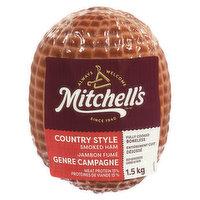 Mitchell's - Boneless Smoked Ham, 1.5 Kilogram