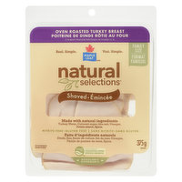 Natural Selections - Oven Roast Turkey Breast Shaved