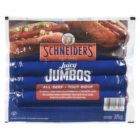 Schneiders - Juicy Jumbos Wieners 100% Beef