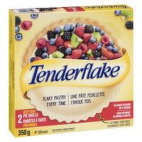 Tenderflake Tenderflake - Deep Pie Shells, 2 Each
