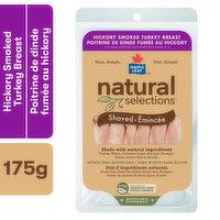 Natural Selections Natural Selections - Turkey Hickory Smoked Shaved, 175 Gram