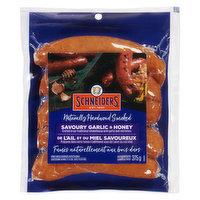 Schneiders - Savoury Garlic & Honey Sausages, 375 Gram