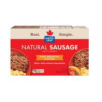 Maple Leaf - Natural Breakfast Sausage Patties, 6 Each