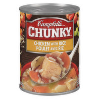 Campbell's Campbell's - Chunky Soup - Chicken With Rice, 540 Millilitre