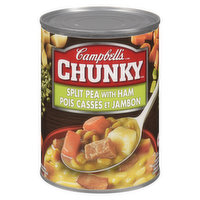 Campbell's - Chunky Soup -  Split Pea With Ham, 540 Millilitre