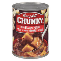 Campbell's - Chunky Pepper Steak and Potato Soup, 540 Millilitre