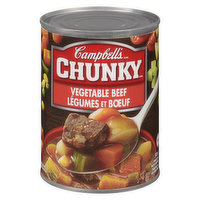 Campbell's - Chunky Soup - Vegetable Beef, 540 Millilitre