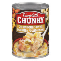 Campbell's - Chunky Soup - Chicken Corn Chowder, 540 Millilitre