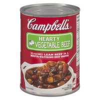 Campbell's - Hearty Beef Vegetable Soup, 540 Millilitre