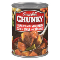 Campbell's - Chunky Soup - Prime Rib With Vegetable, 540 Millilitre