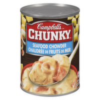 Campbell's - Chunky Soup - Seafood Chowder, 540 Millilitre