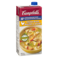 Campbell's - Chicken Broth 30% Less Sodium