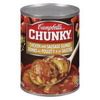 Campbell's - Chunky Soup - Chicken Sausage Gumbo, 540 Millilitre