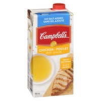 Campbell's - Chicken Broth - No Salt Added