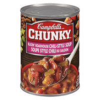 Campbell's - Chunky Chili Style Soup Blazin Road House, 540 Millilitre