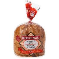 Rubschlager - Marble Rye Loaf Bread Sliced