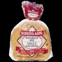 Rubschlager - Bavarian Rye Bread Sliced