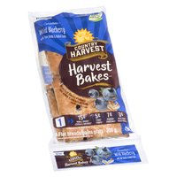 Country Harvest - Flat Bread - Wild Blueberry w/ Flax Seed, Oats, 300 Gram
