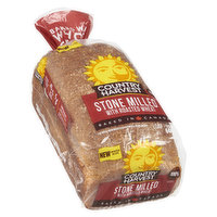 Hearty & fresh. 23g whole grains, 4g fibre, 5g protein & 0.3g omega-3. Baked in Canada. Grab life by the grains!