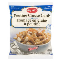 Authentic Quebec Poutine Cheese Curds. Firm Unripened Cheese. 42% Moisture, 29% M.F.