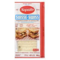 Saputo - Swiss Cheese Slices - Light