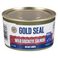 Gold Seal - Wild Pacific Red Sockeye Salmon, 213 Gram