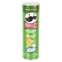 Pringles - Potato Chips Sour Cream & Onion, 156 Gram