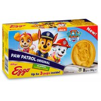 Homestyle waffles are a delicious family favorite with a fun nick jr. twist. No artificial colors or flavors. Up to 3 pups inside! 8 waffles.