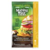 Morning Star Farms - Veggie Burger - Harvest Veggie, 4 Pack, 268 Gram