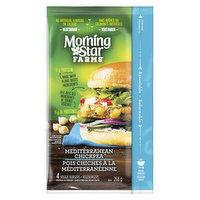 Morning Star Farms - Veggie Burger - Mediterranean Chickpea, 4 Pack, 268 Gram