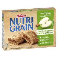 Kellogg's - Nutri Grain Bars - Apple Cinnamon, 8 Each