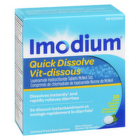 Imodium - Quick Dissolve Tablets 2mg - Mint