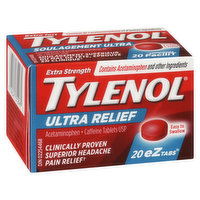 Tylenol Tylenol - Extra Strength Ultra Relief eZ Tabs 500mg, 20 Each