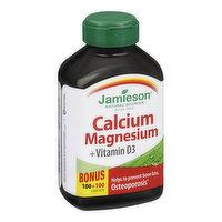 Jamieson - Calcium Magnesium + Vitamin D3, 200 Each