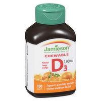 Jamieson - Chewable Vitamin D 1000mg 25mcg