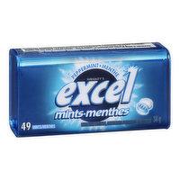 Excel - Mints Peppermint, 49 Each
