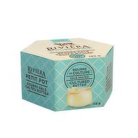 Riviera Riviera - Petit Pot Cultured Butter - Sea Salt, 125 Gram
