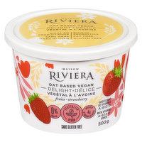 Riviera - Oat Milk Vegan Delight Strawberry GF, 500 Gram