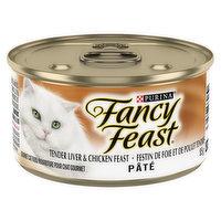 Fancy Feast Fancy Feast - Pate Cact Food Tender Liver & Chicken Feast, 85 Gram