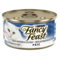 Fancy Feast Fancy Feast - Cat Food - Ocean Whitefish & Tuna Feast Pate, 85 Gram